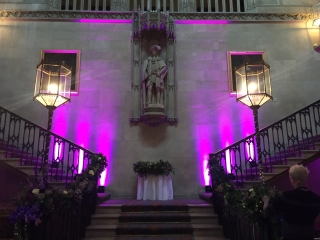 Lighting Staircase Ashridge House