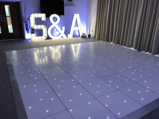 St Albans Starlight Dance Floor Hire