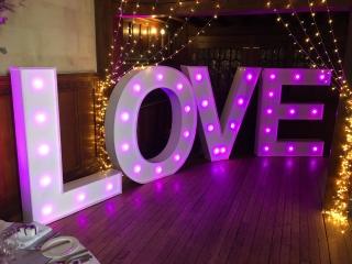 Fanhams Hall LOVE Letters
