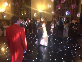 Fanhams Hall Starlight Dance Floor