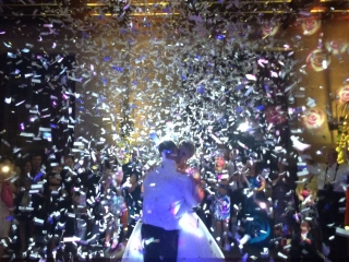 Fanhams Hall Confetti Cannon