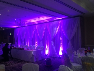 Wedding Backdrop Shendish Manor