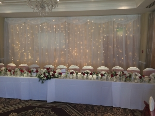Fairylight Backdrop Shendish Manor