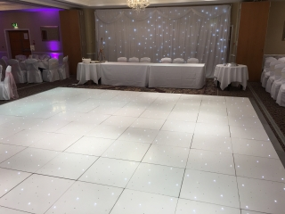 White Dance Floor Shendish Manor