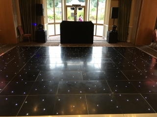 Black Dance Floor Shendish Manor
