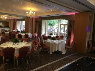 Shendish Manor Uplighting