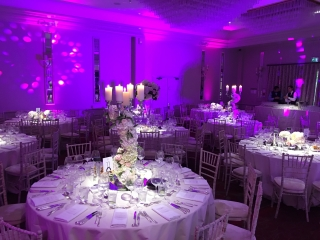 Sopwell House Wedding Lighting