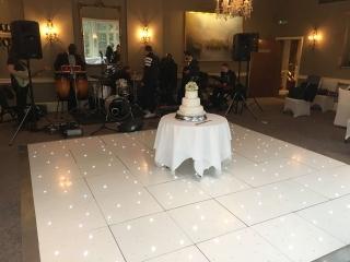 White Dance Floor St Michaels Manor