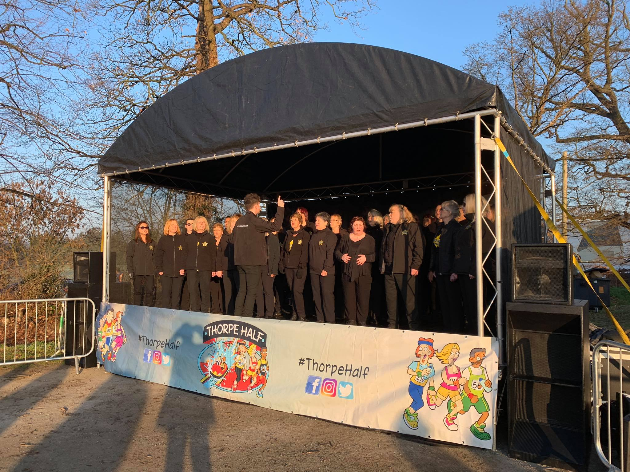 6m x 4m Stage - choir