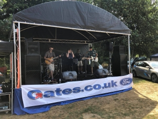 6m x 4m Stage - Band
