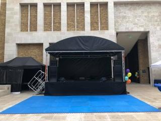 6m x 4m Stage - Empty
