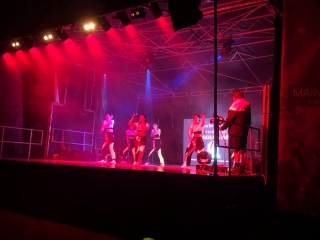 8m x 7m Stage - girlband