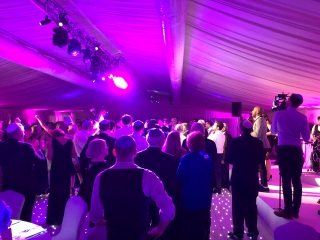 Hertfordshire Wedding Lighting