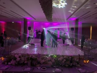 The Grove Dance Floor Lighting