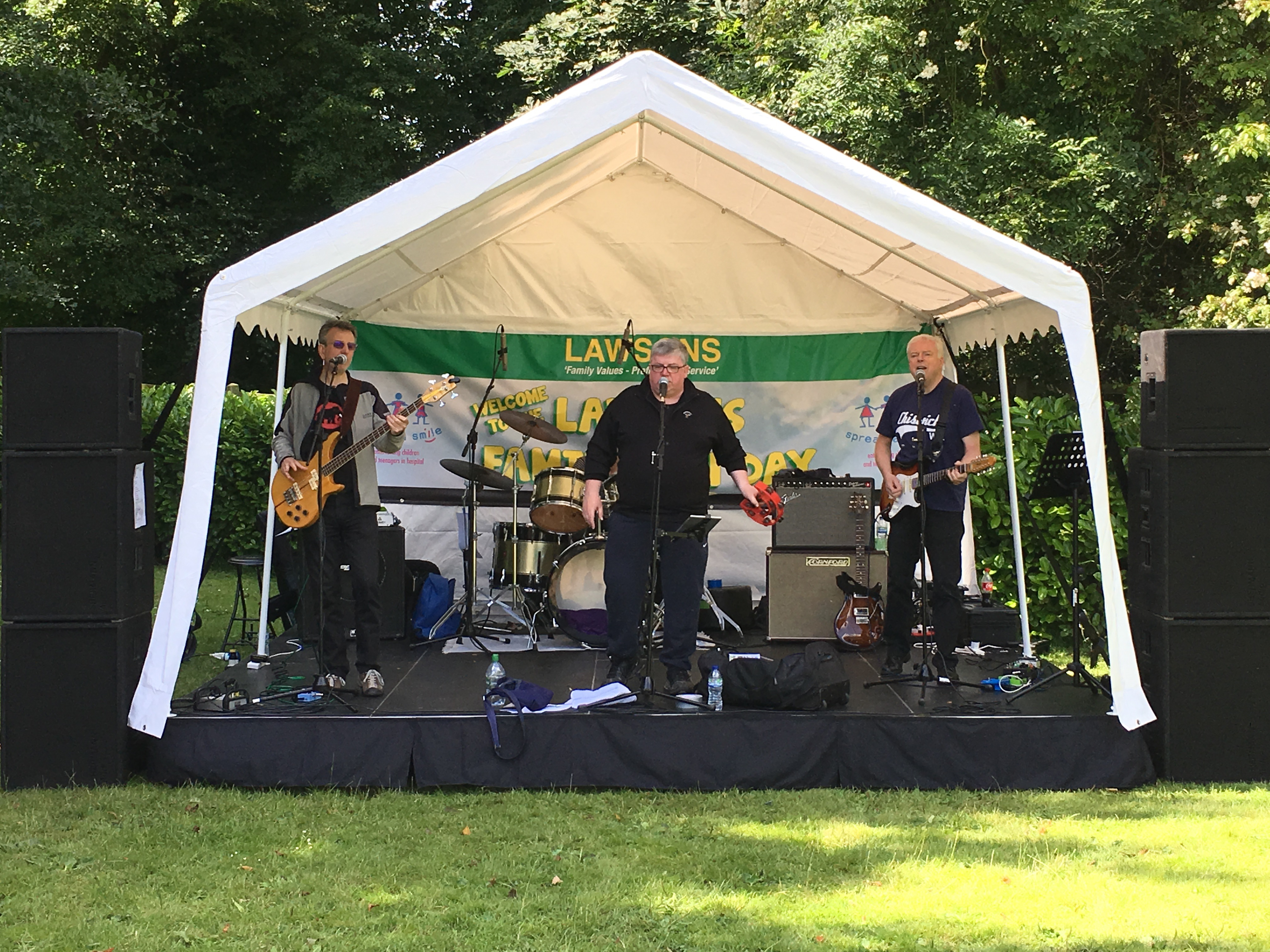 Mini Festival Outdoor Stage Hire At Knebworth Barns Just
