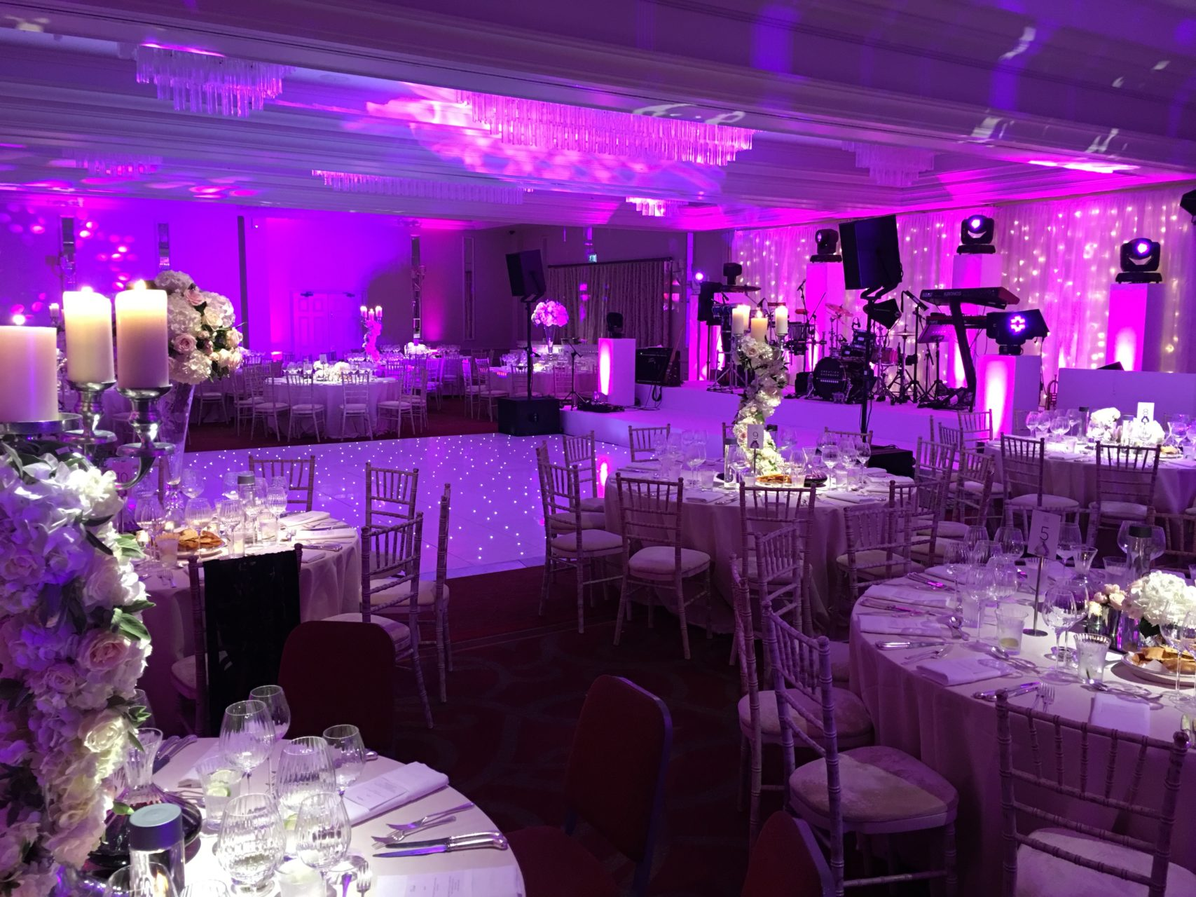 Wedding Production and the Creation Showband at Sopwell House