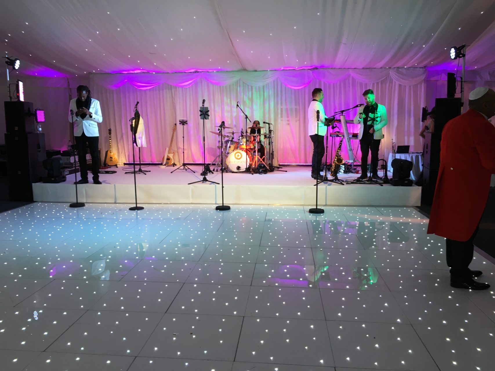 Wedding Production at Luton Hoo Walled Garden