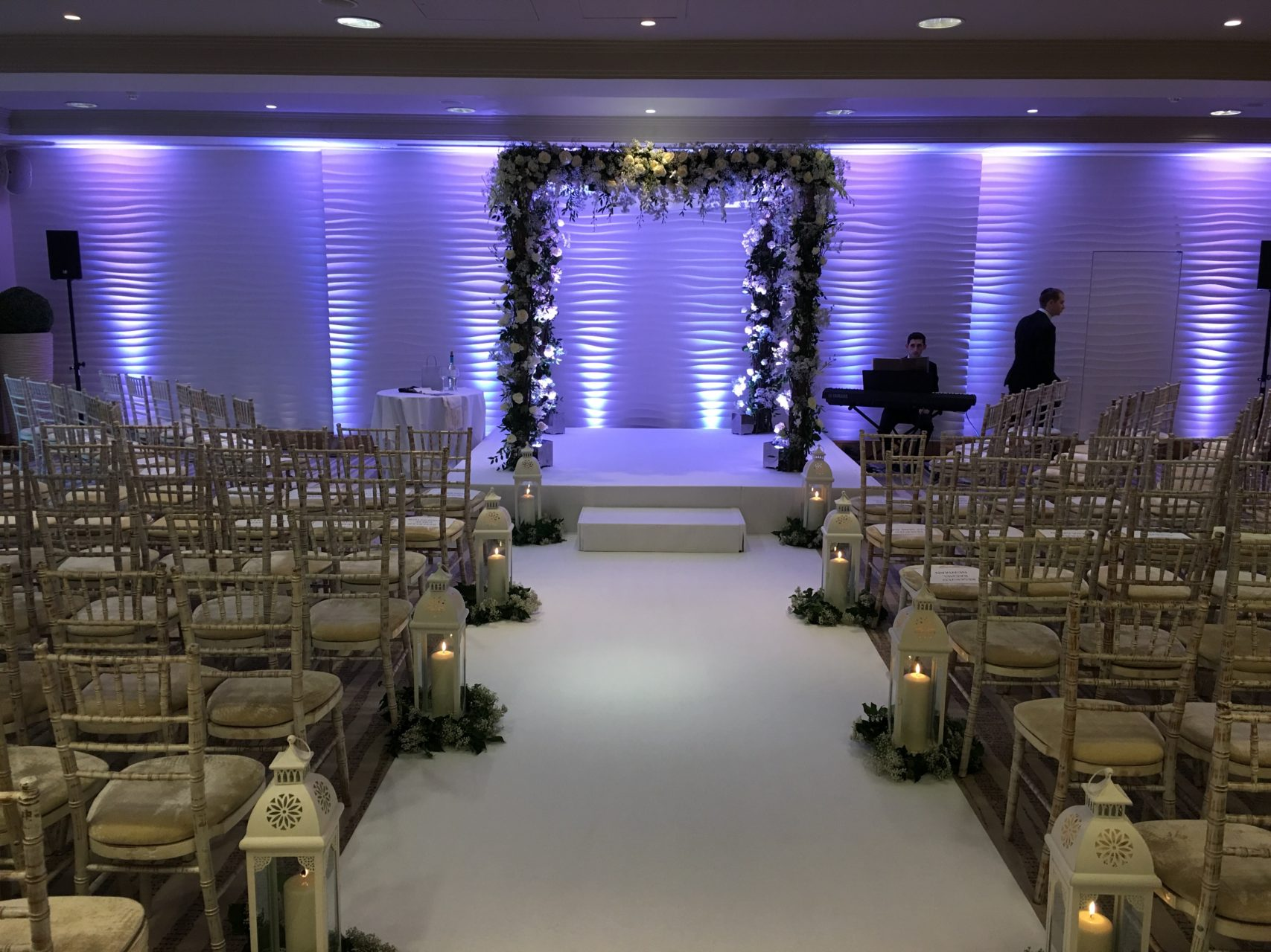 Wedding Production at The Runnymede on Thames