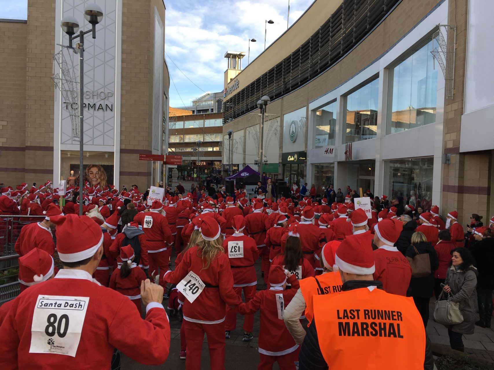 Charity Fun Run | PA Hire | Santa Dash