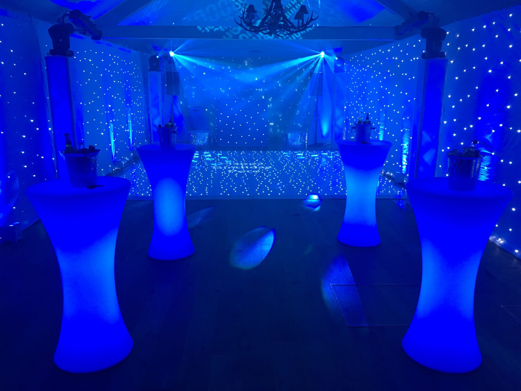 Party Lighting Production Hire in Hertfordshire