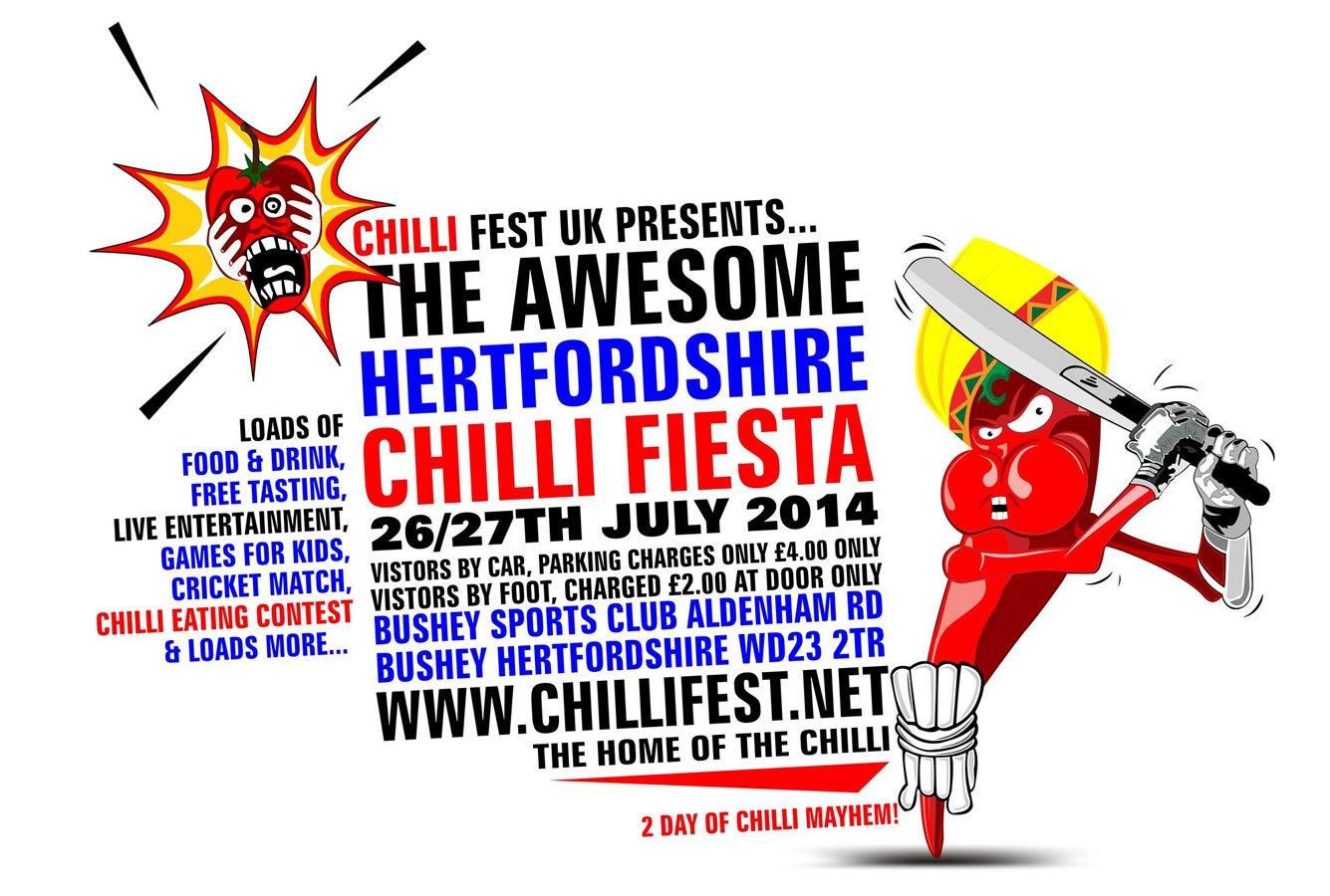 PA Hire for the Chilli Fiesta