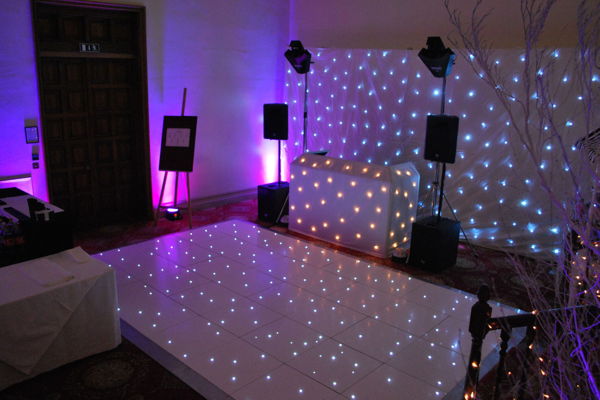 Christmas Party DJ at Luton Hoo Hotel