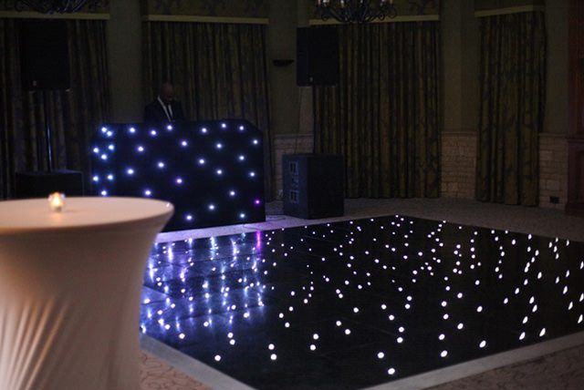 Dance floor hire Surrey