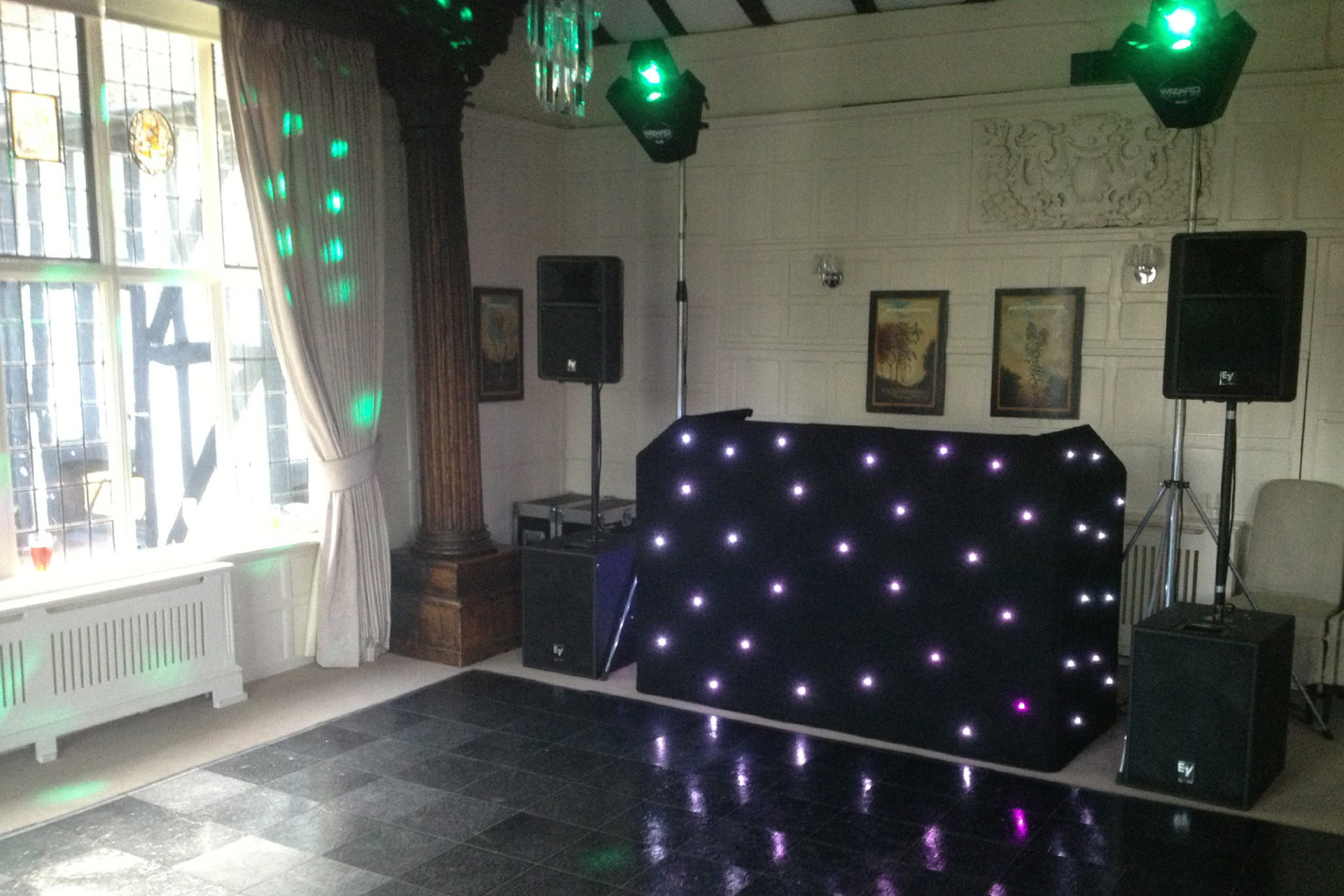 DJ at Edwarebury Hotel