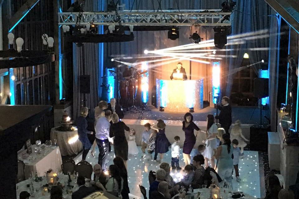 Event & Lighting Production for Wedding in Hatfield