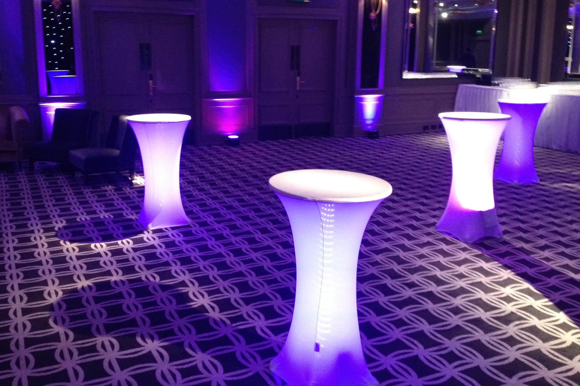 LED Table Hire