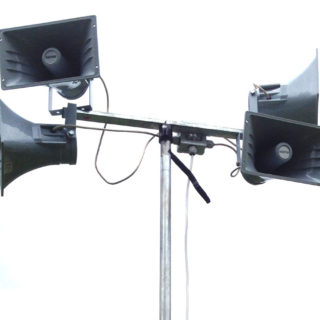 Outdoor PA System (Tannoy)