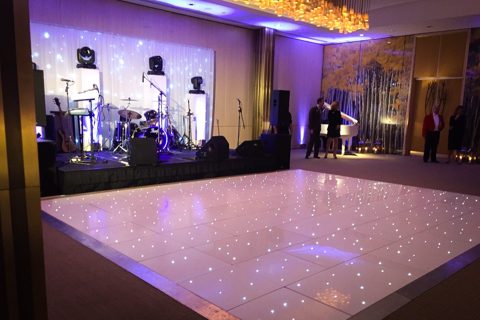 The Grove wedding dance floor
