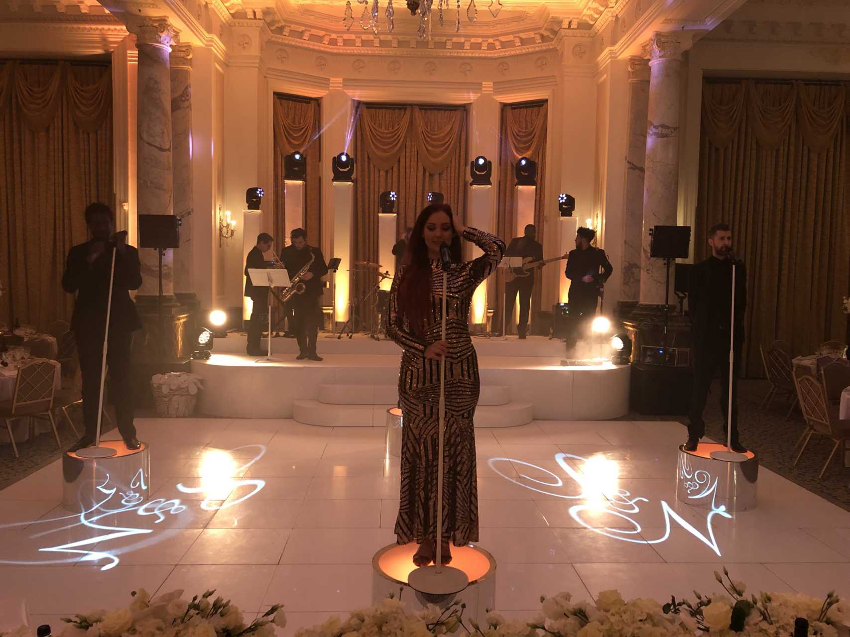 Wedding Production at The Landmark Hotel London