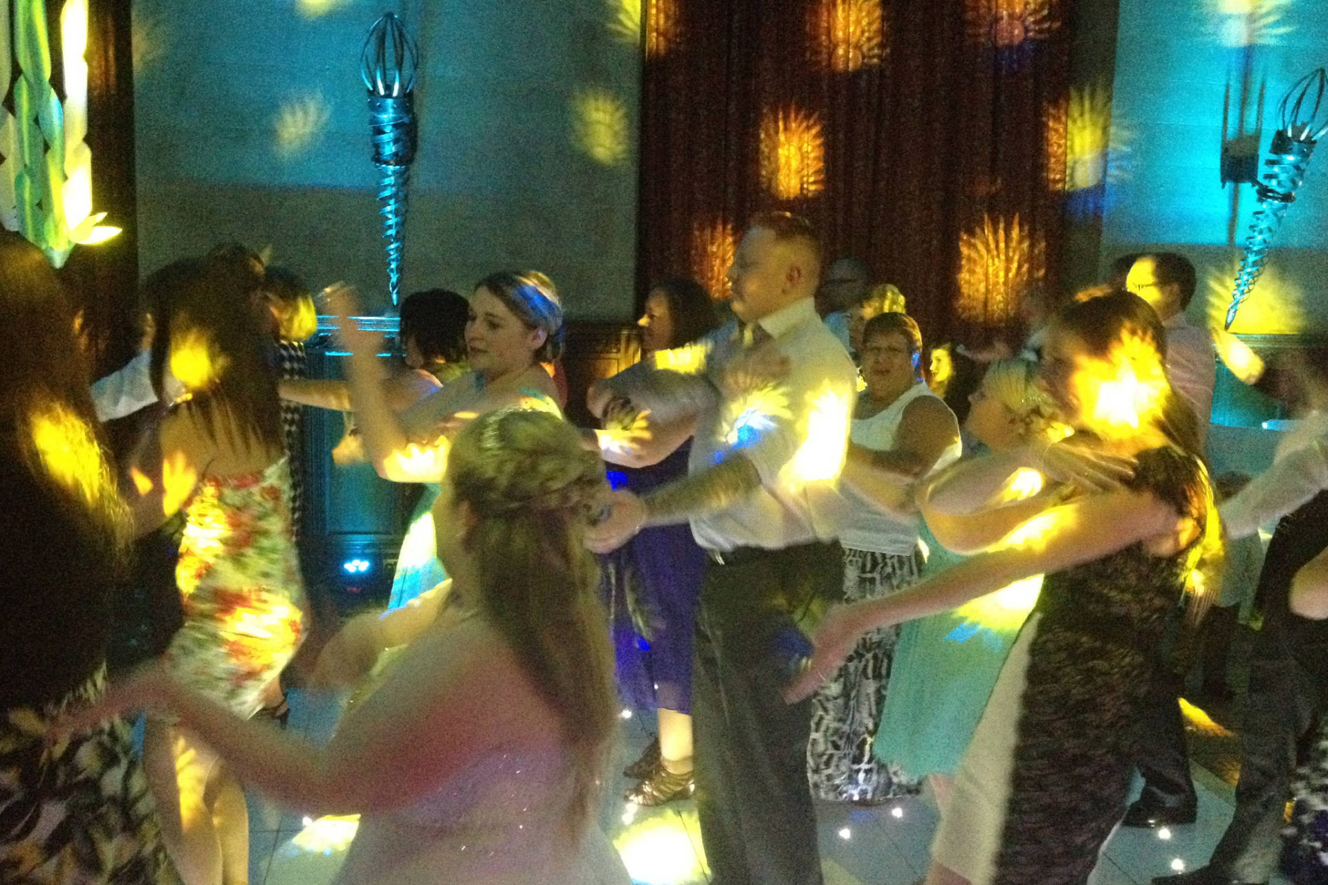 Wedding DJ at Fanhams Hall Hotel